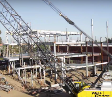 Time Lapse of KCRW's New Building
