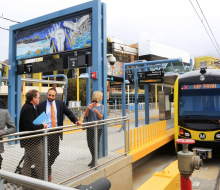 Inside the Expo Line Beach Bound Extension